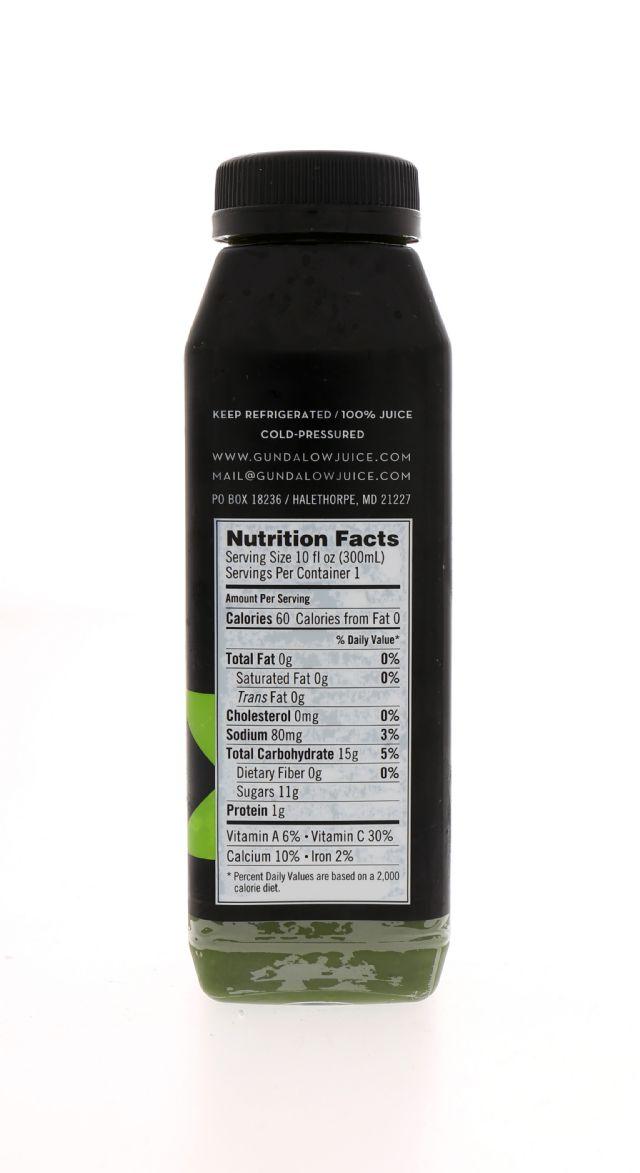 Gundalow Juice: Gundalow SSVeggie Facts