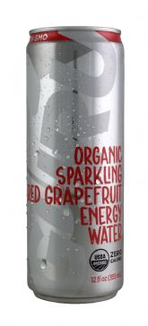 Organic Sparkling Red Grapefruit Energy Water