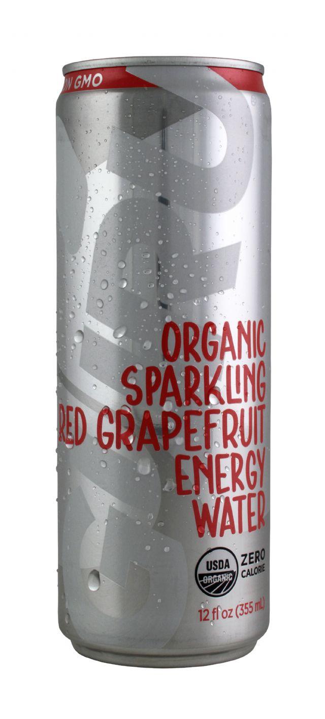 Guru Energy Drink: EnergyWater RedGrape Front