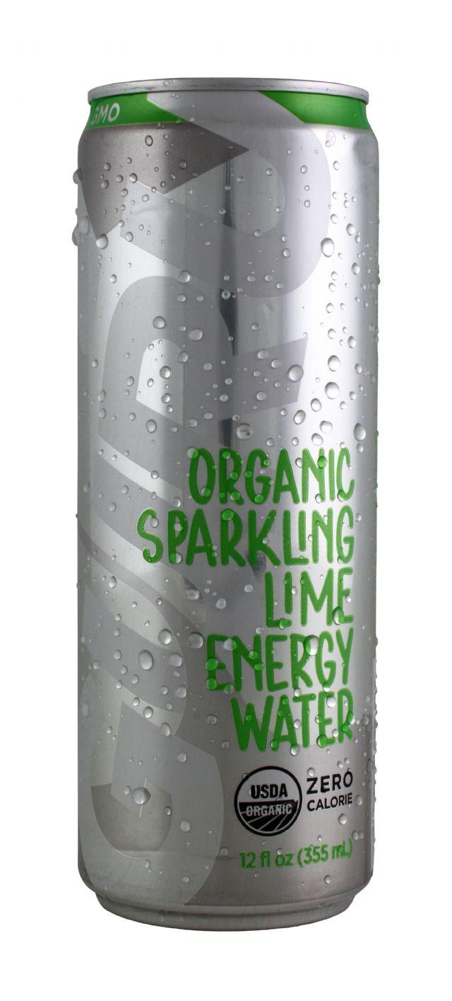 Guru Energy Drink: EnergyWater Lime Front