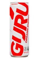 Guru Energy Drink: Guru-12oz-OrganicEnergy-Lite-Front