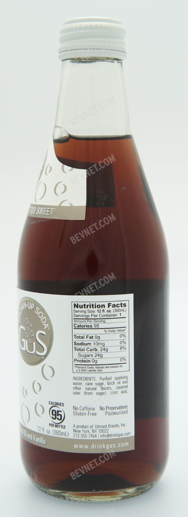 GuS (Grown-Up Soda):
