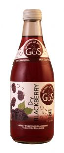 GuS (Grown-Up Soda): Gus DryBlack Front
