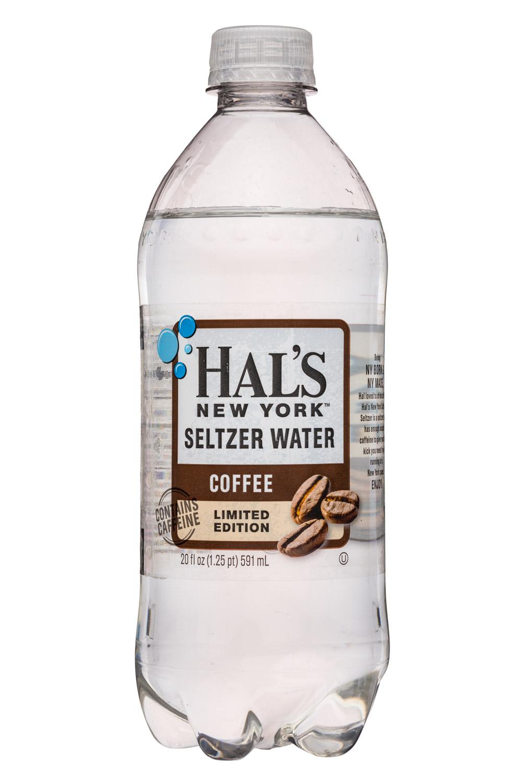 Hal's New York: Hals-20oz-Seltzer-Coffee-Front