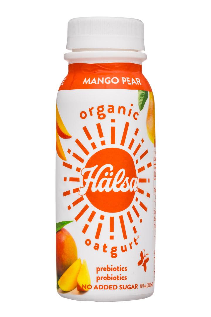 Halsa Foods: Halsa-8oz-Oatgurt-MangoPear-Front