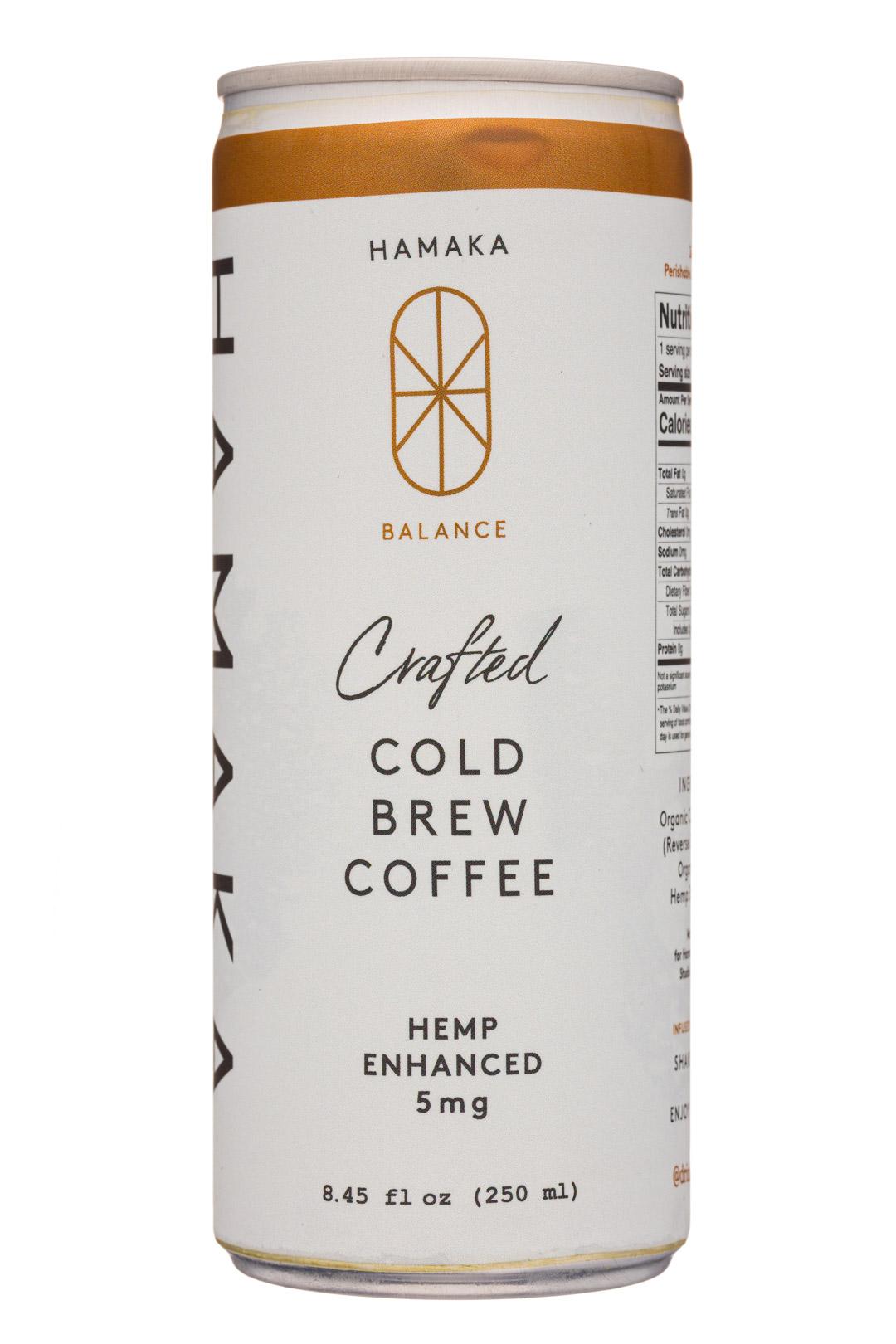 Hemp Enhanced Cold Brew Coffee