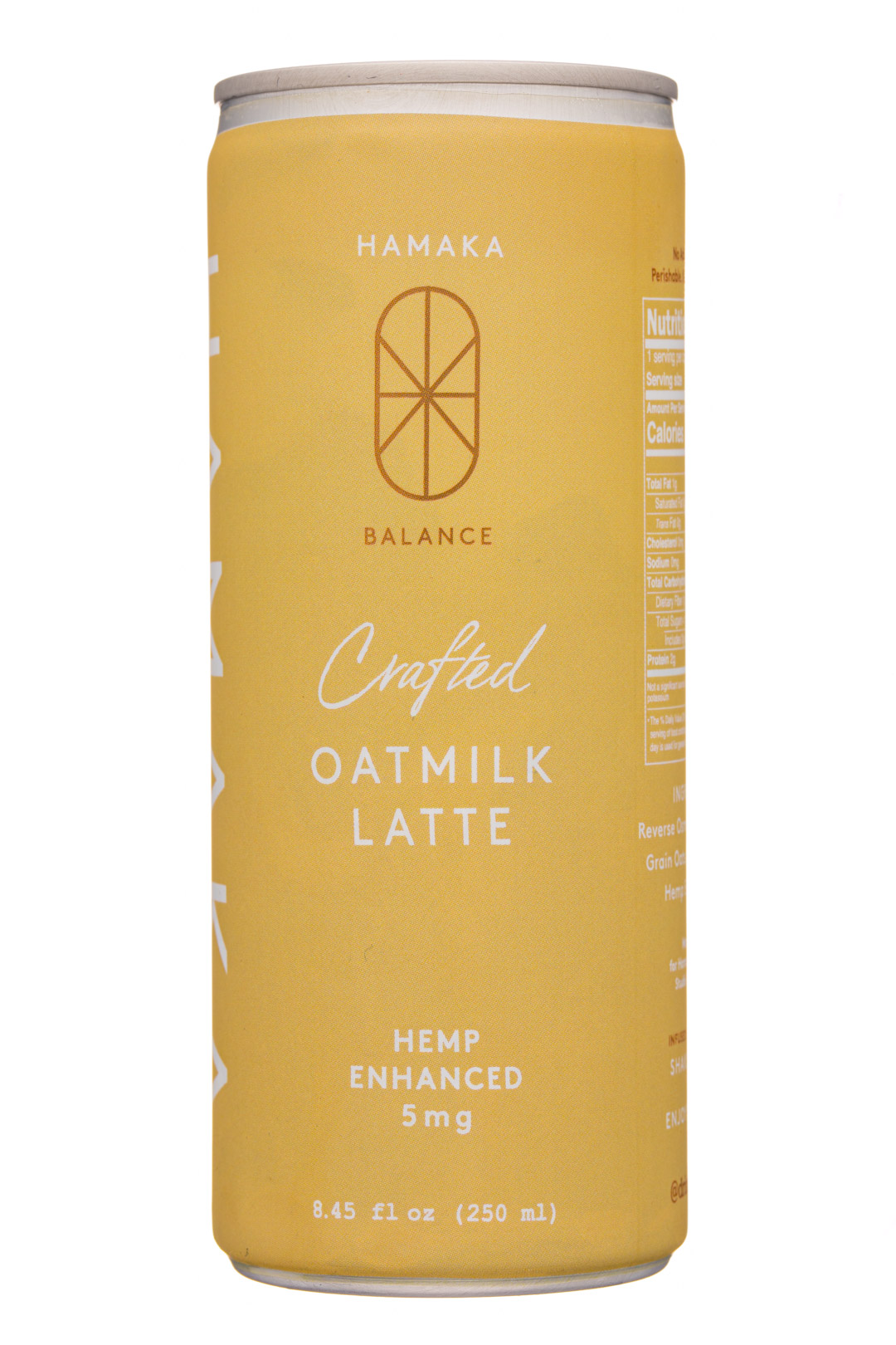 Hemp Enhanced Oatmilk Latte
