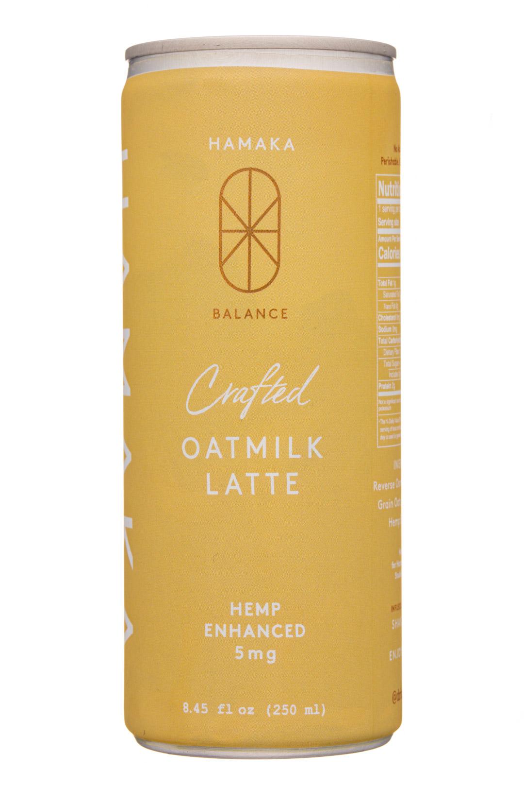 Hemp Enhanced Oatmilk Latte