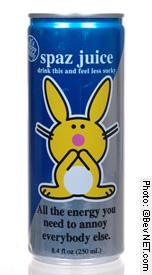 Happy Bunny Spaz Juice