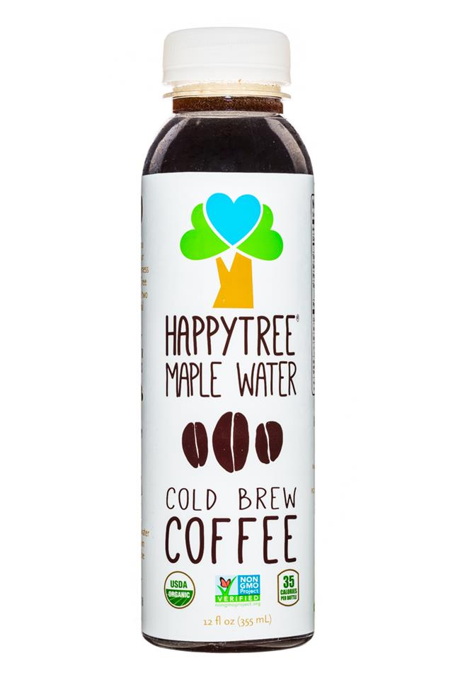 Happy Tree Maple Water: HappyTree-MapleWater-12oz-Coffee-Front