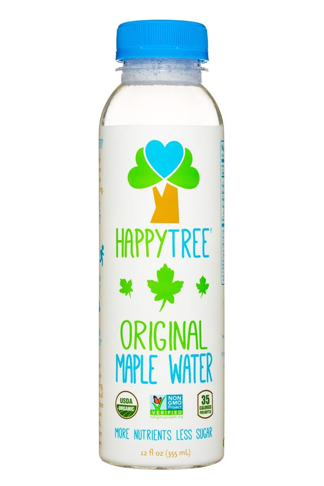 Happy Tree Maple Water: HappyTree-MapleWater-12oz-OG-Front