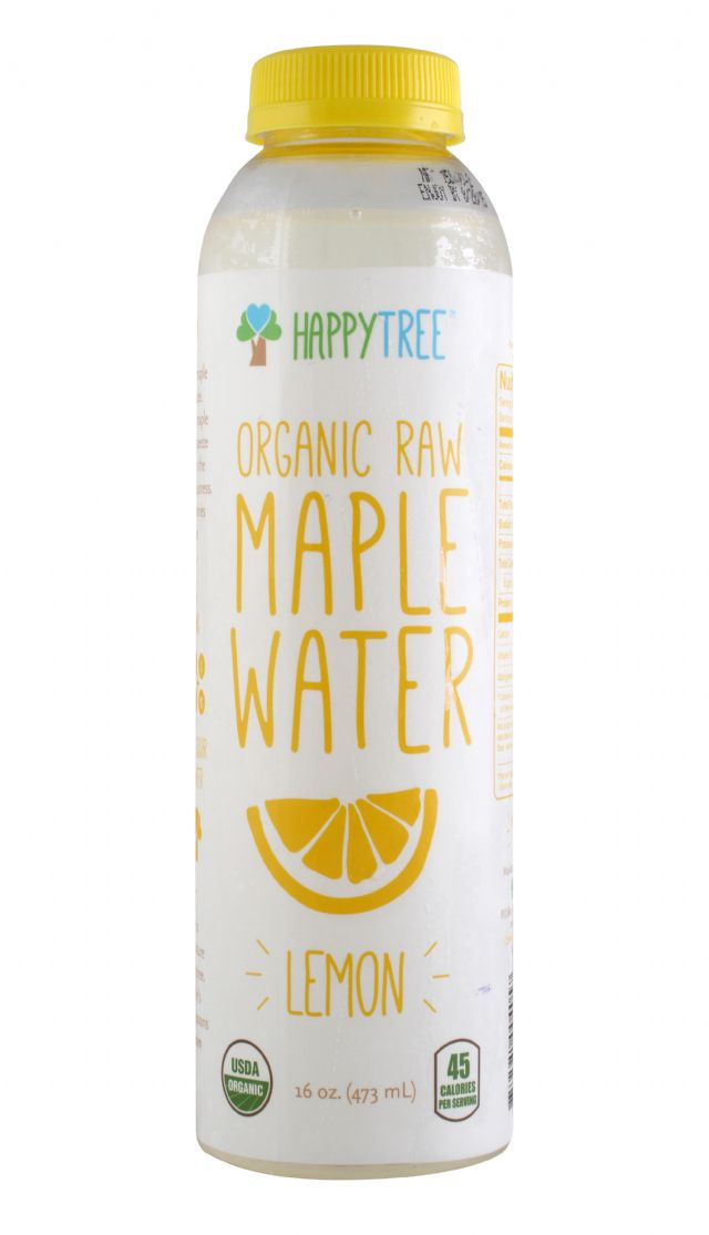 Happy Tree Maple Water: HappyTreeLemonMaple_front