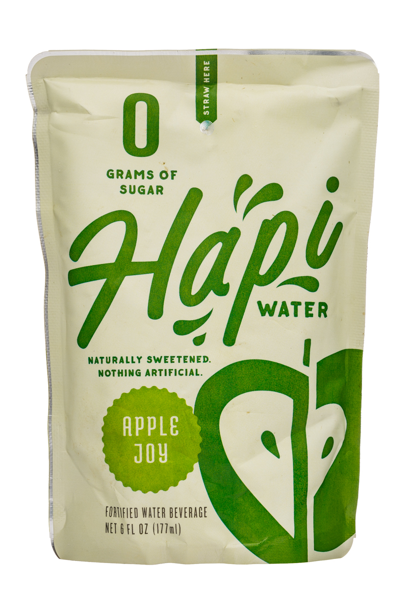 Hapi Water: Hapi-Water-6oz-Pouch-AppleJoy
