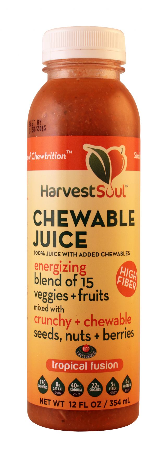 Harvest Soul Chewable Juice: HarvestSoul Tropical Front
