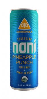 Sparkling Noni Pineapple Punch
