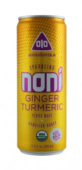 Sparkling Noni Ginger Turmeric