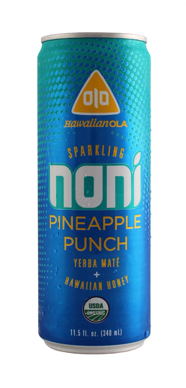 Hawaiian OLA: Noni PinePunch Front