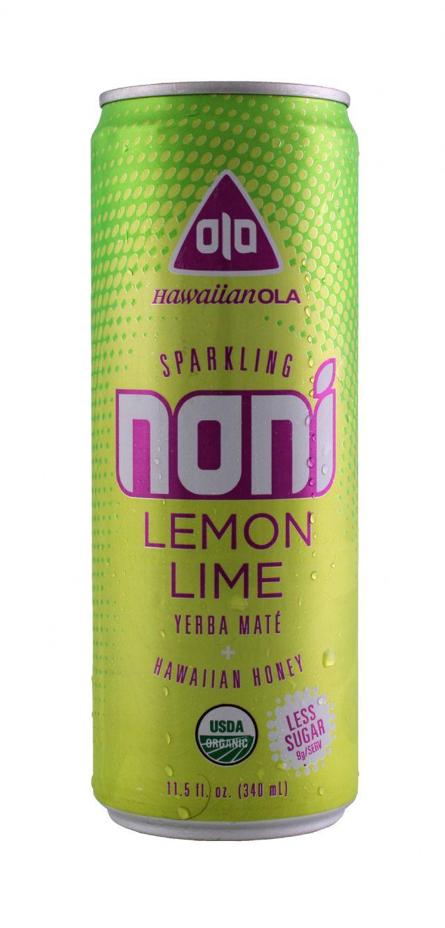 Hawaiian OLA: Noni LemonLime Front
