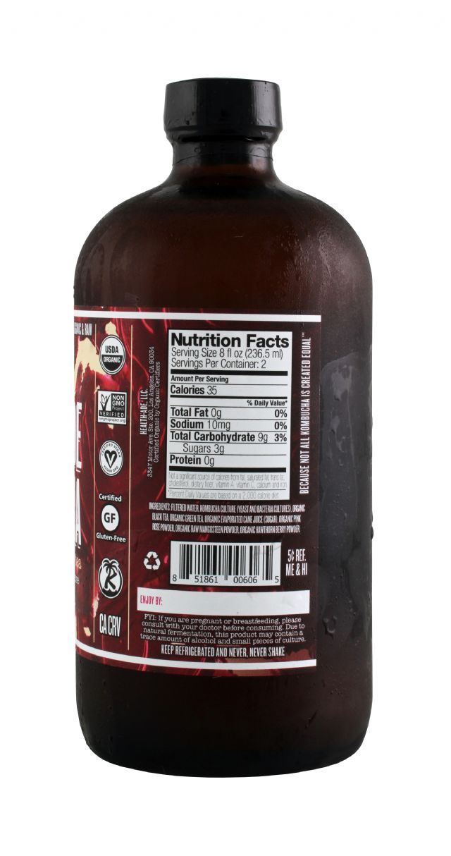 Health-Ade Kombucha: HealthAde SweetThorn Facts