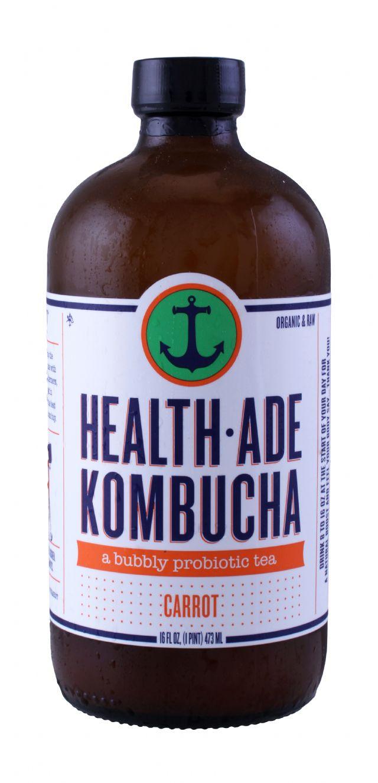 Health-Ade Kombucha: HealthAde Carrot Front