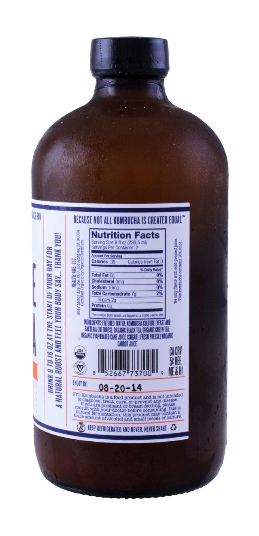 Health-Ade Kombucha: HealthAde Carrot Facts