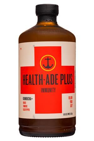 Health-Ade: HealthAde-12oz-2020-Plus-Immunity-Front