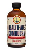 HealthAde-8oz-Kombucha-PinkLadyApple-Front