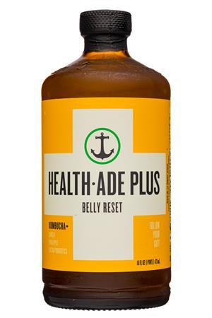 Health-Ade: HealthAde-12oz-2020-Plus-BellyReset-Front