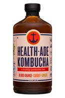 HealthAde-16oz-Kombucha-BloodOrangeGinger-Front