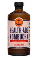 HealthAde-16oz-Kombucha-CayenneCleanse-Front