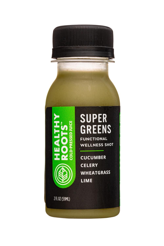 Super Greens (Cucumber, Celery, Wheatgrass, Lime)