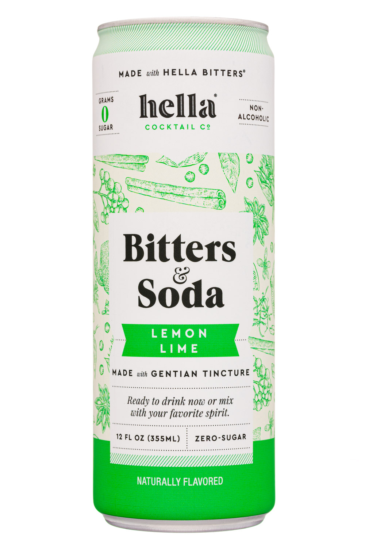 Bitters & Soda Lemon Lime