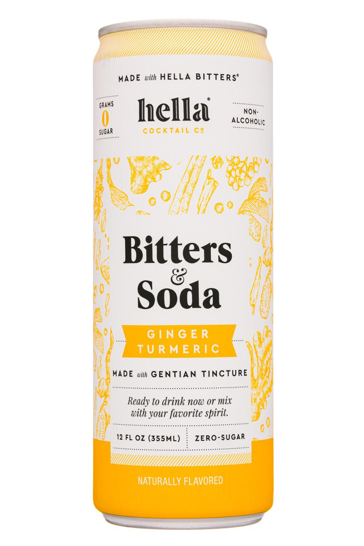 Bitters & Soda Ginger Turmeric