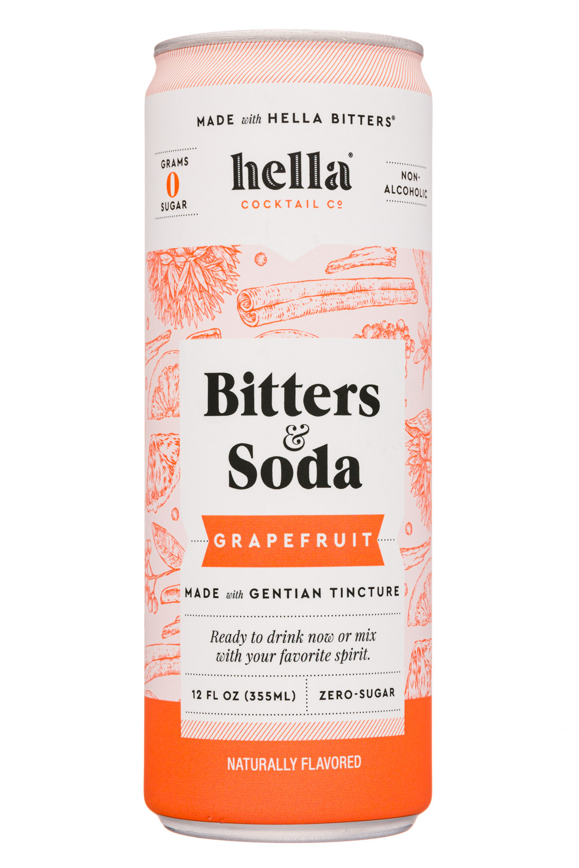 Bitters & Soda Grapefruit