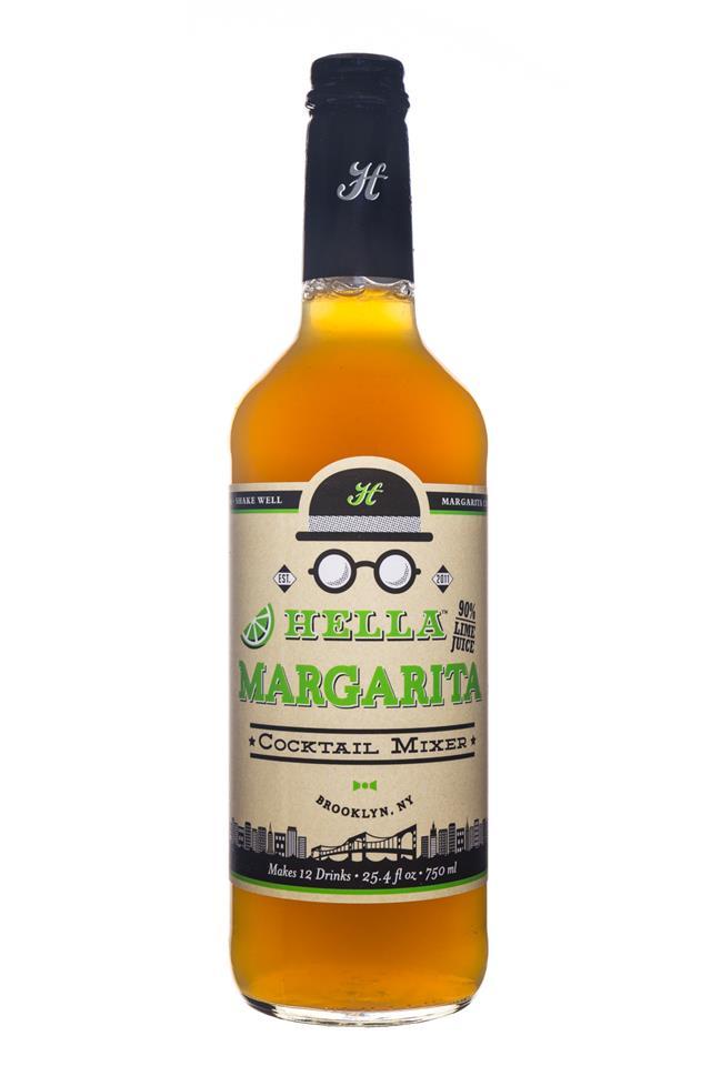 Hella Cocktail Mixers: Hella-Mix-28oz-Margarita-Front