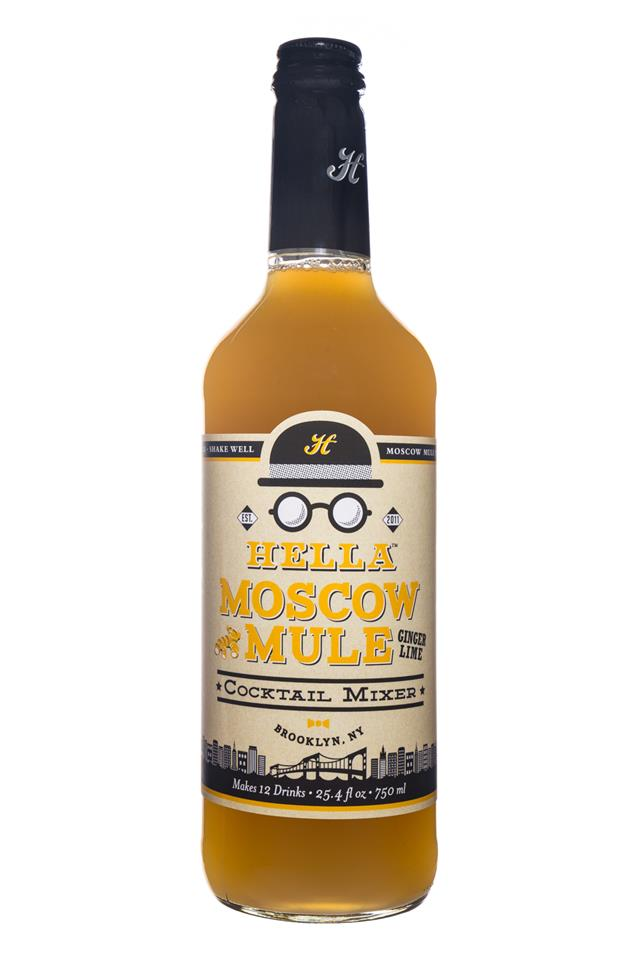 Hella Cocktail Mixers: Hella-Mix-28oz-MoscowMule-Front