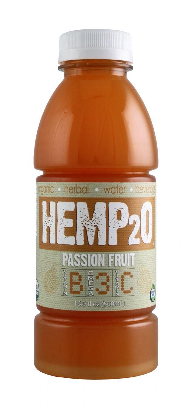 Hemp2O: Hemp20 PassionFruit Front