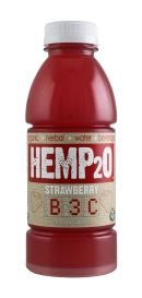 Hemp2O: Hemp20 Strawberry Front