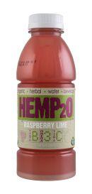 Hemp2O: Hemp20 RaspberryLime Front