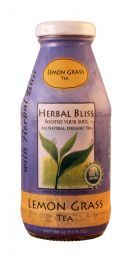 Herbal Bliss All Natural Organic Tea: HerbalBliss Lemon Front