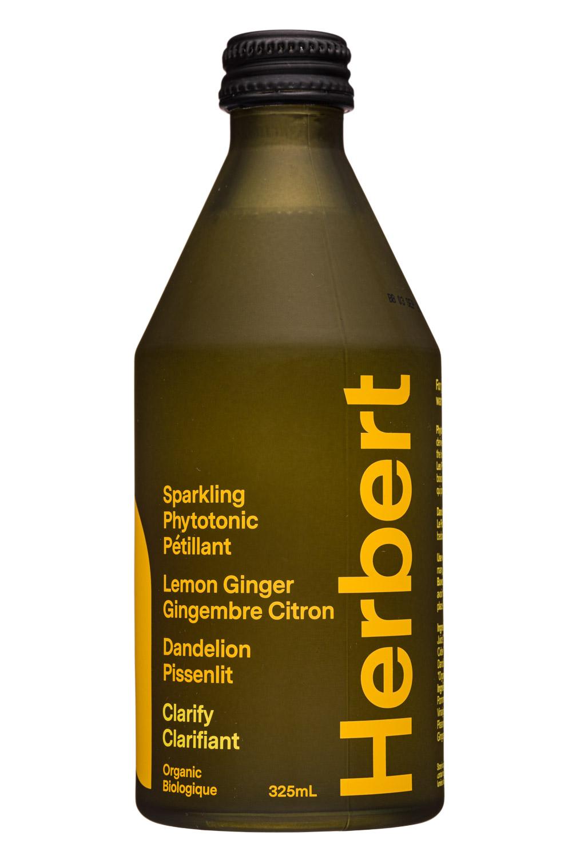Herbert: Herbert-325ml-2020-SparklingPhytotonic-LemonGinger-Front