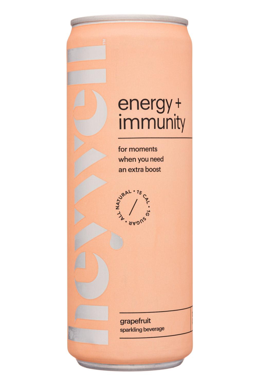 Heywell: Heywell-12oz-Sparkling-EnergyImmunity-Grapefruit-Front