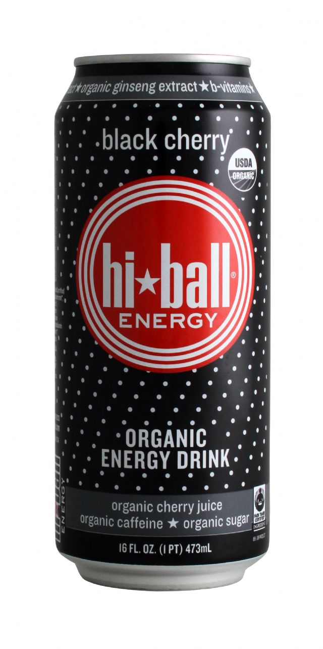 Hiball Energy Drinks: HiBall BlackCherry Front
