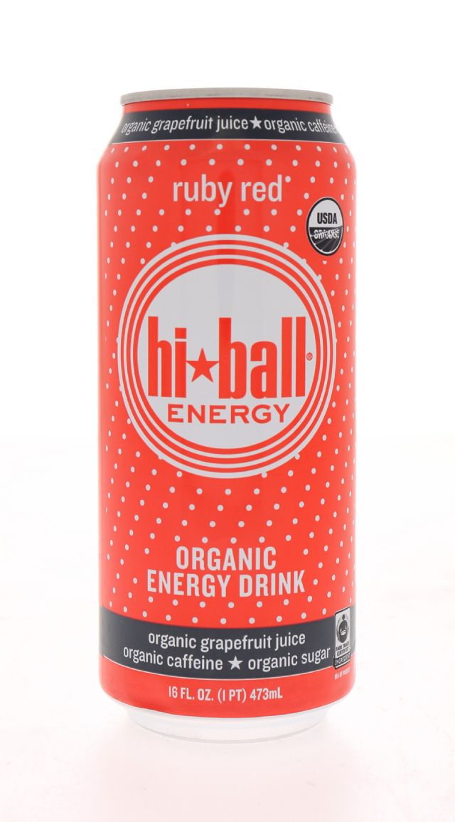 Hiball Energy Drinks: HiBall RubyRed Front