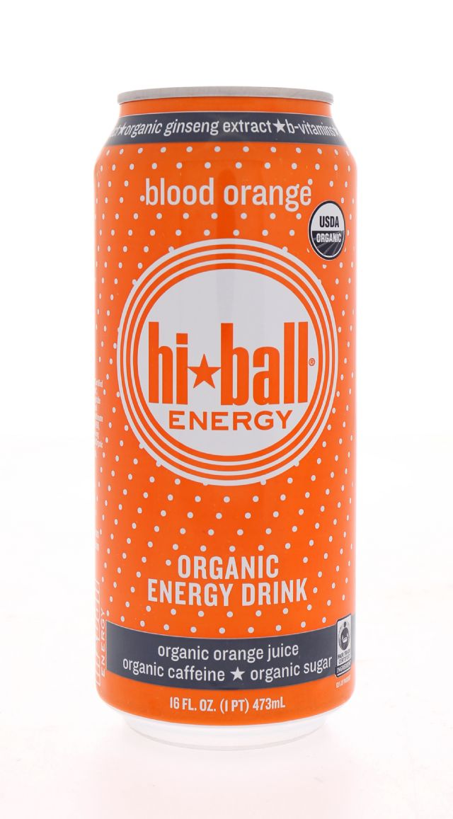 Hiball Energy Drinks: HiBall BloodOrange Front