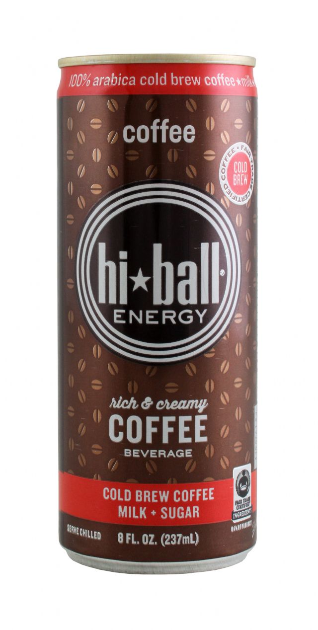Hiball Energy Drinks: HiBall Coffee Front
