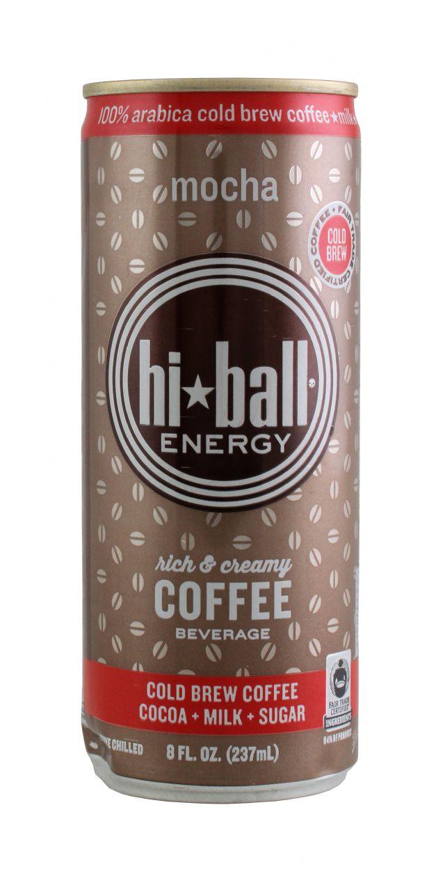 Hiball Energy Drinks: HiBall Mocha Front