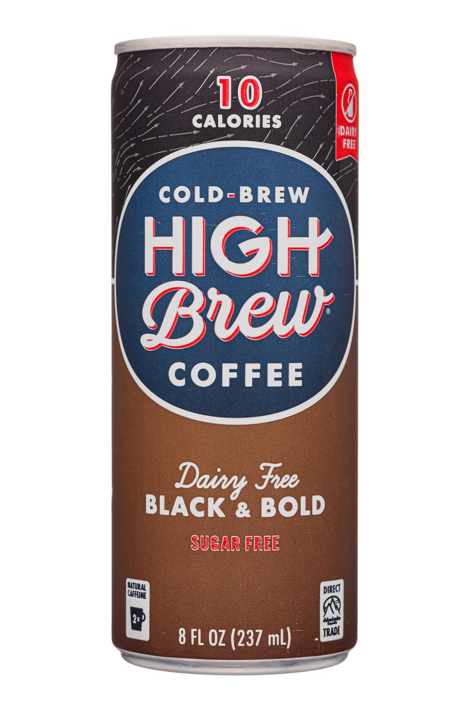 Dairy Free Black & Bold - Sugar Free