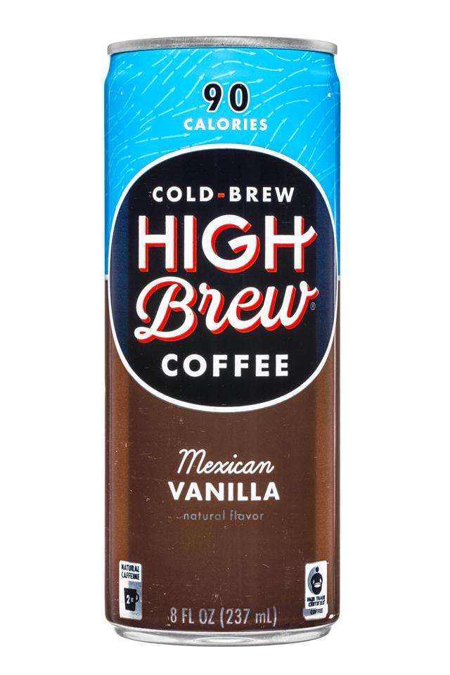 High Brew Coffee: HighBrew-Coffee-8oz-MexicanVanilla-Front
