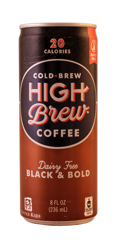 High Brew Coffee: HighBrew BlackBold Front